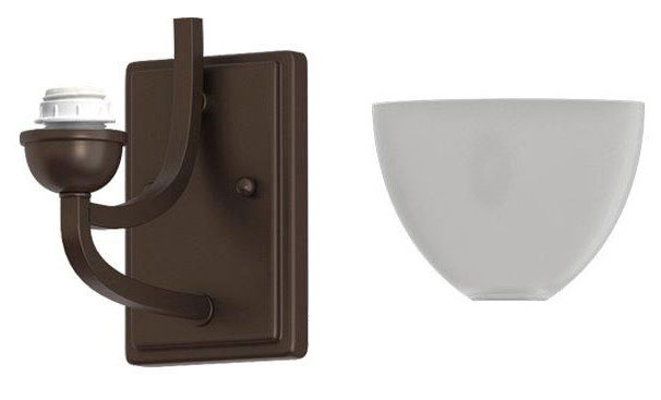 Oil Rubbed Bronze Wall Sconce
