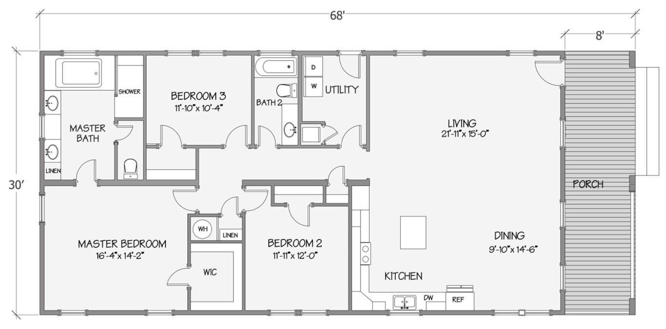 8007-72-3-32 Rendered Floorplan