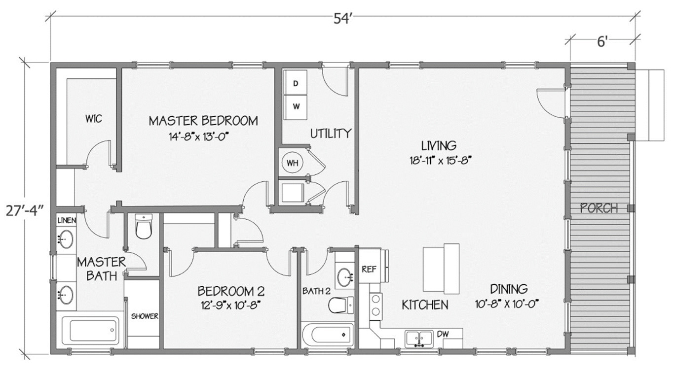 8020-58-2-30 Rendered Floorplan
