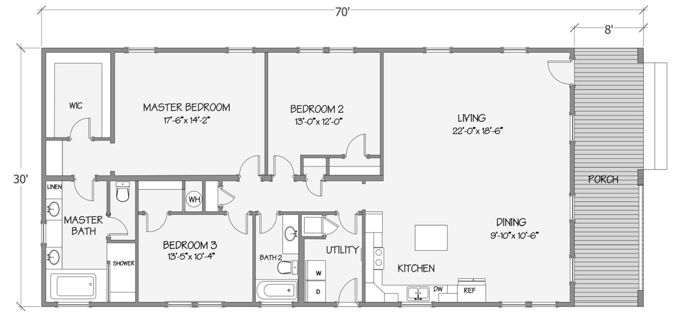 8008-74-3-32 Rendered Floorplan
