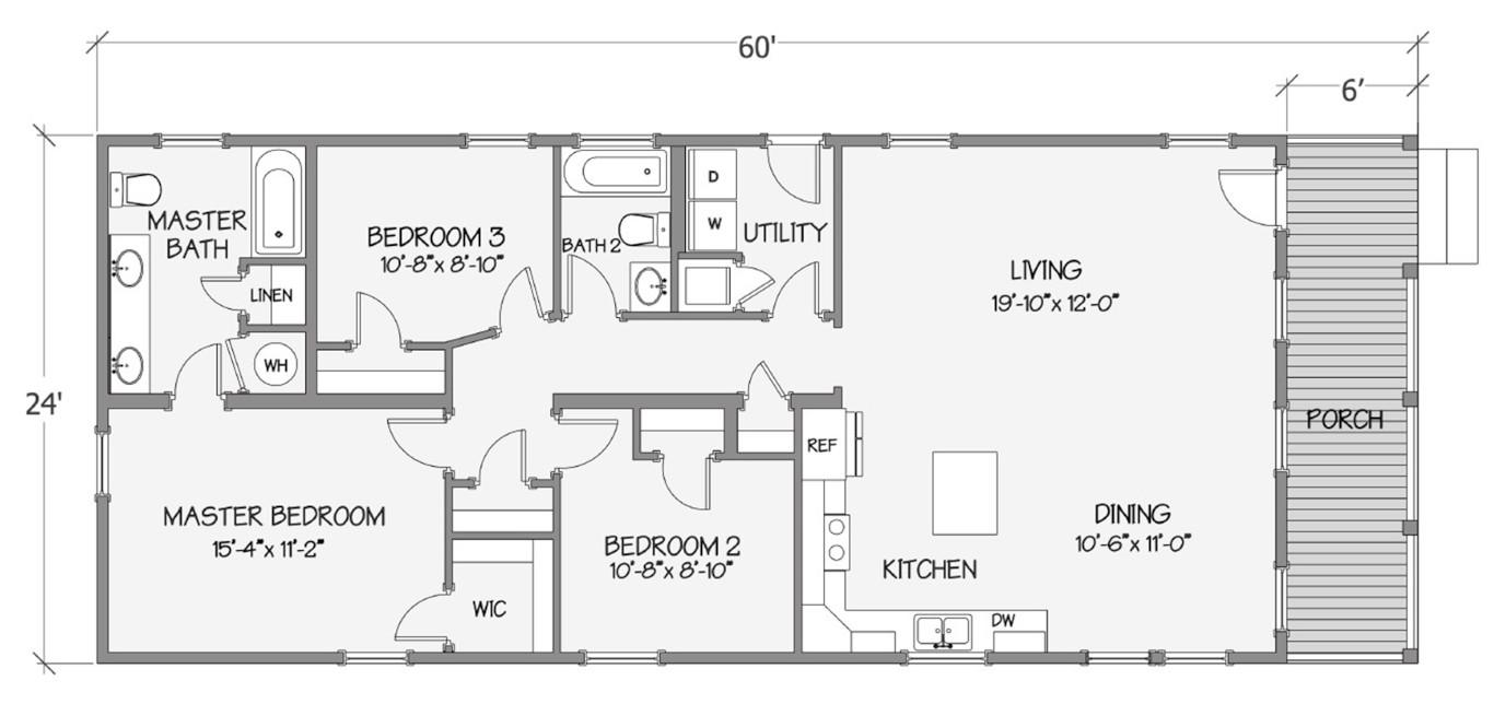 8031-64-3-26 Rendered Floorplan