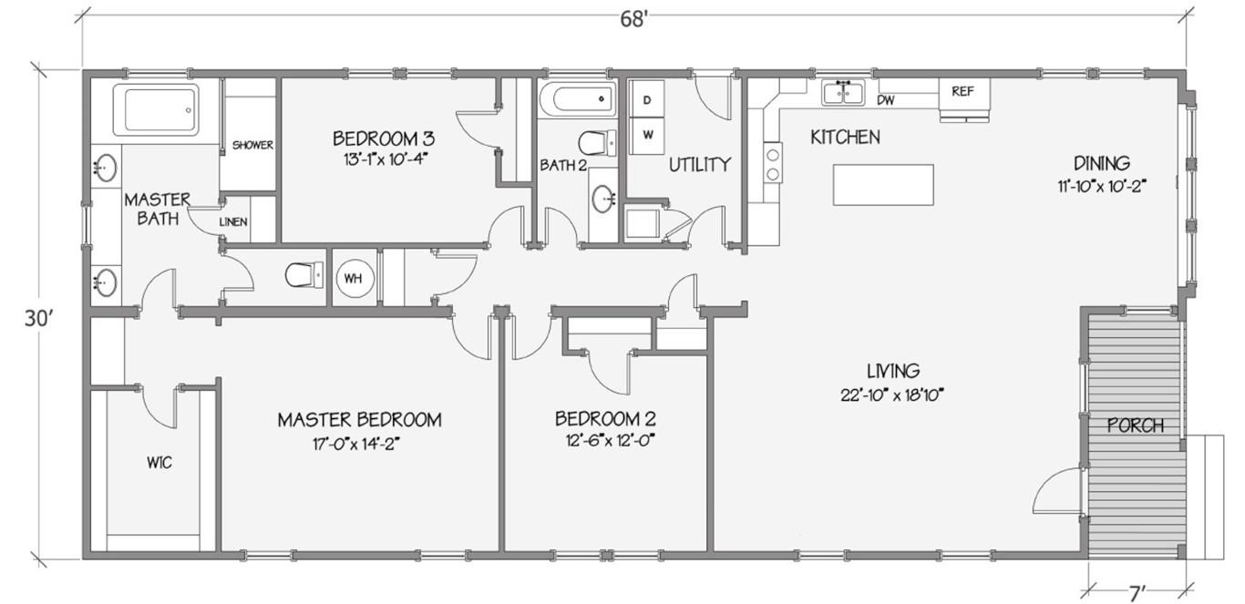Walton Rendered Floorplan