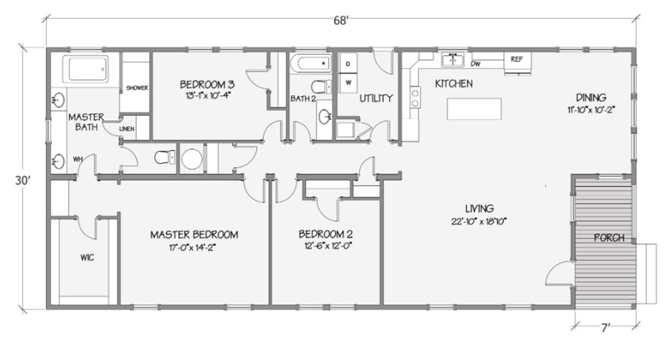 Bradford Rendered Floorplan