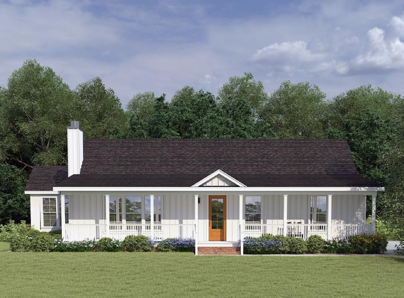 Lilly I-B Exterior Rendering