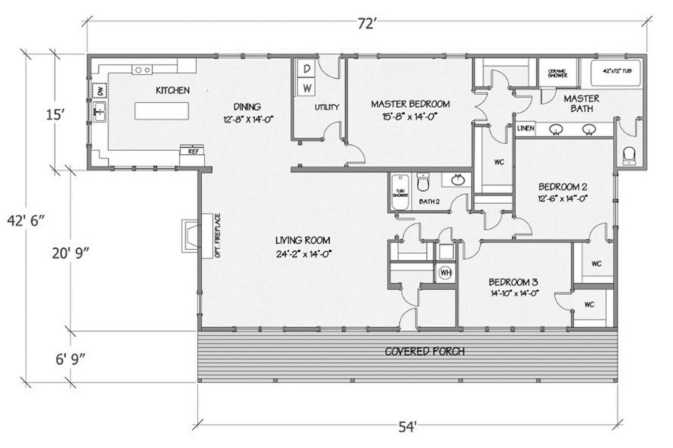 Lilly III Rendered Floorplan