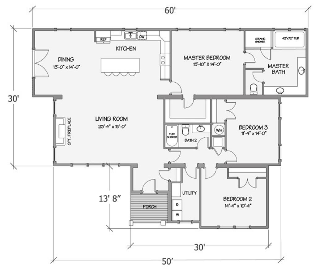 Nandina III Rendered Floorplan