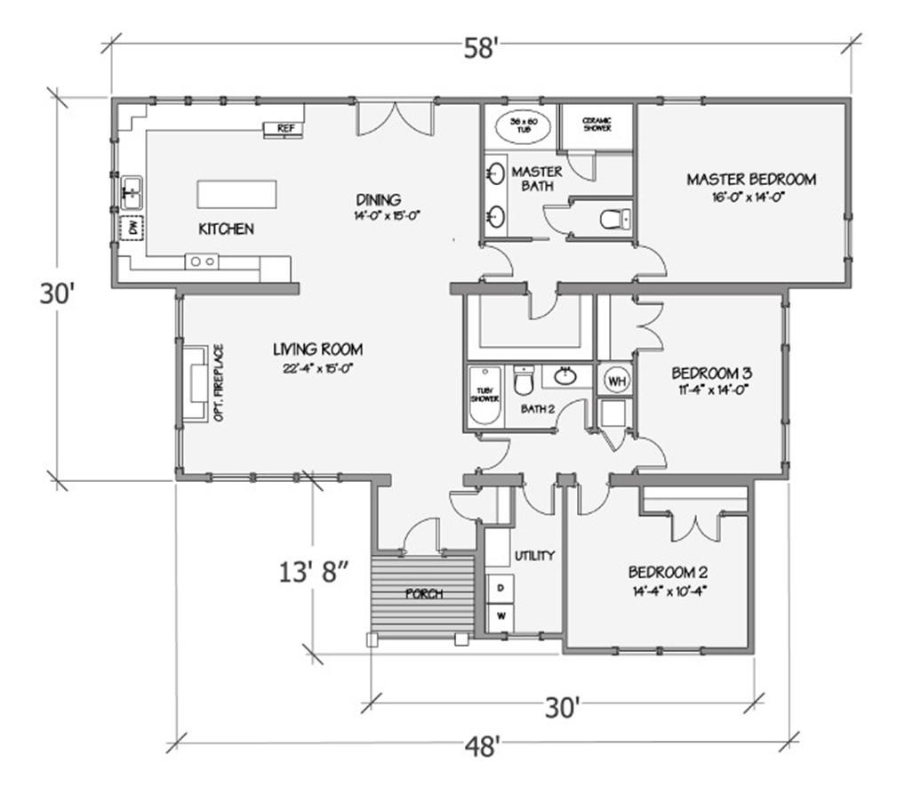Nandina IV Rendered Floorplan