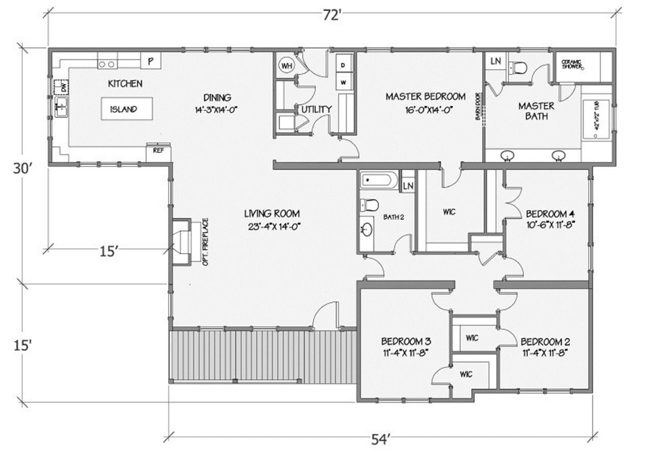 Jasmine I Rendered Floorplan