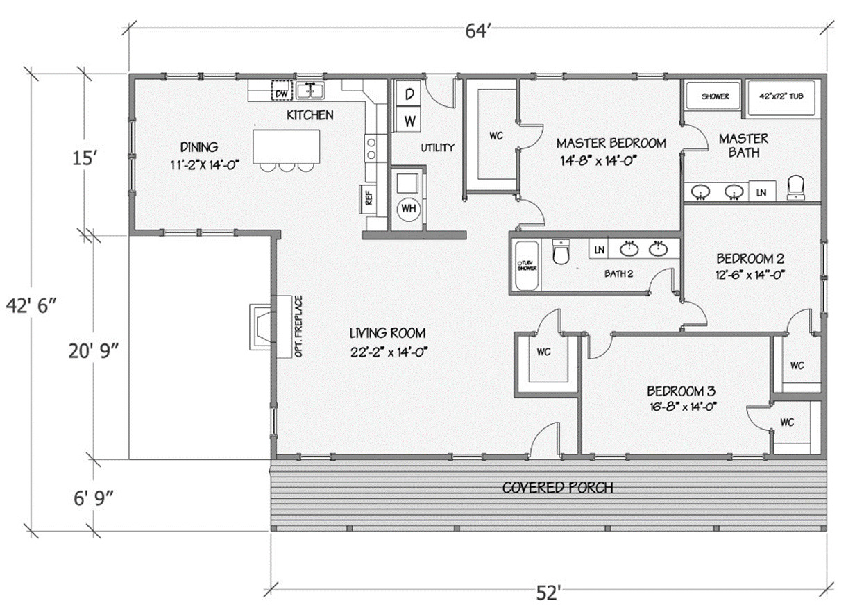 Lilly I Rendered Floorplan