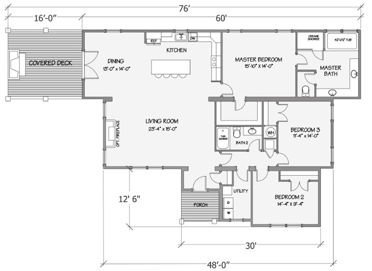 Nandina II Rendered Floorplan